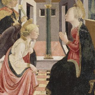 성 줄리앙과 자선수도회의 수도사와 함께 한 수태고지