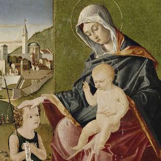 작은 성 요한과 함께 있는 성모와 아기 예수