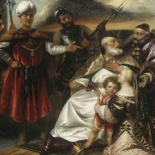 파라온 왕위를 짓밟은 어린 시절의 모세