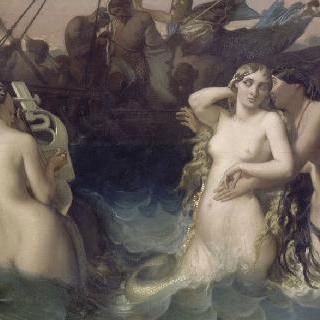 오디세우스에게 바람을 부는 아이올로스