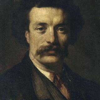 프랑스 조각가 에르네스트 이올의 초상