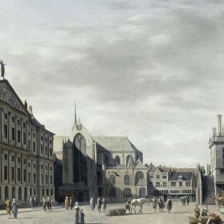 담, 암스테르담의 새로운 시청