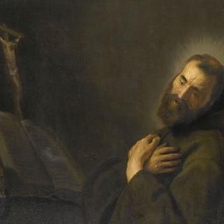 기도하는 성 사제