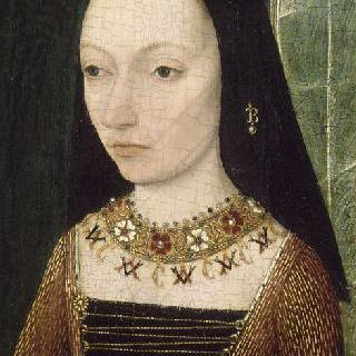 마르그리트 도크의 초상, 부르고뉴 공작 샤를 르 테메레르의 부인