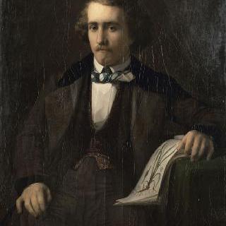 조아냉 의사의 초상, 화가의 친구