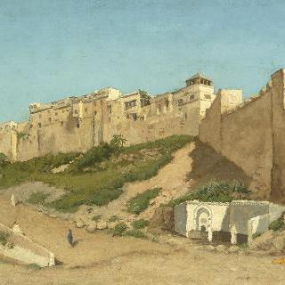 알제리의 카즈바 아랍인 거주 지구