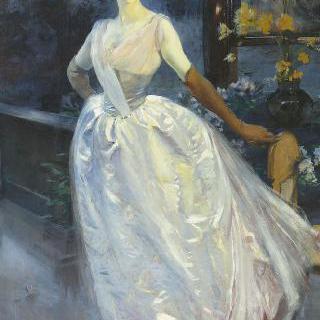 화가의 부인 로제 주르댕 부인의 초상
