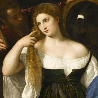화장하는 여인의 초상