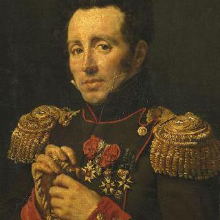 빅토르 아벨 드 살의 초상, 포병 대령