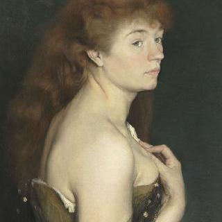 붉은 머리의 젊은 여인의 초상