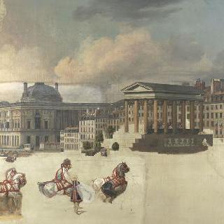 루이 18세의 파리 입성 1814년 5월 3일
