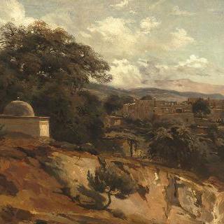 레바논 브로마나에서 바라본 전경