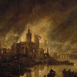 트로이의 화재
