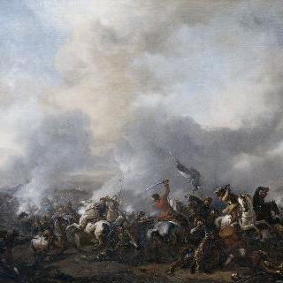 기병대와 보병대간의 대 전투