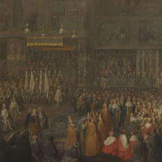 1722년 10월 25일 루이 15세의 대관식