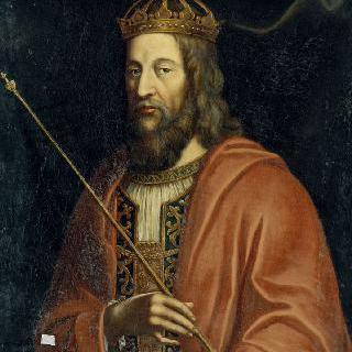 루이 2세 프랑스 왕의 초상