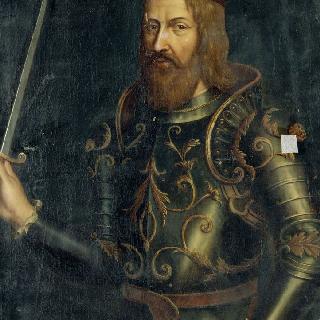 로테르 프랑스 왕의 초상