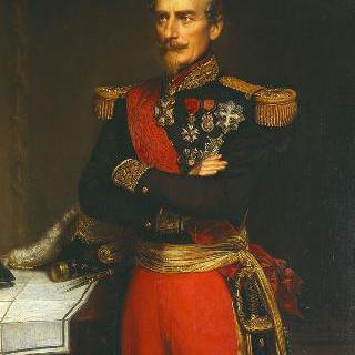 프랑스 사령관 제복을 입은 아르망 드 생 타르노의 초상