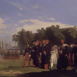 1846년 5월 22일 이브라힘 파샤의 생 시르 군사학교 방문