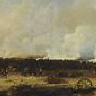 1812년 8월 7일 모스코와 전투의 전경