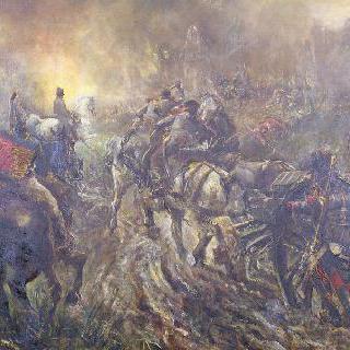 1807년 6월 14일 프리드란드 전투의 저녁