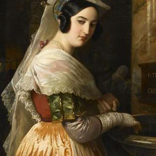 알바노의 젊은 소녀