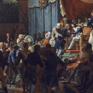 1804년 첫 번째 레지옹 도뇌르 십자가 훈장의 수여