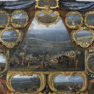 1646년 그랑 콩데의 둔케르크와 퓌른 전투