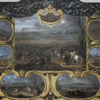 1668년 프랑슈 콩테 정복을 이룬 그랑 콩데의 전투