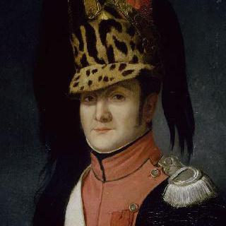 아타나즈 루이 마리 클레망 드 리스, 용기병 제 16연대의 부관