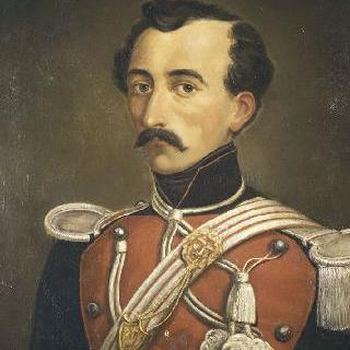 에두아르 드 클레발 자작, 제 8 창기병 연대 부관