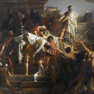콜라티 광장의 루크레티우스