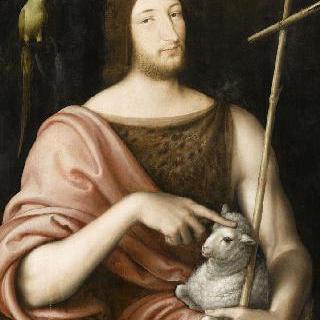 성 요한의 복장의 프랑수아 1세의 초상