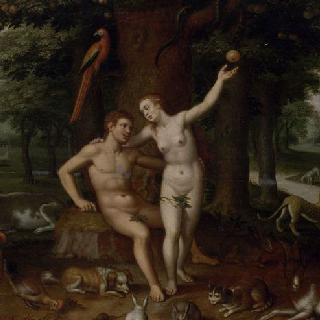 지상 낙원의 아담과 이브