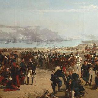 1854년 크림 전쟁의 연합군의 상륙
