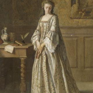 18세기 소녀의 초상