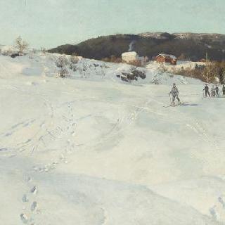 노르웨이의 어느 겨울 날