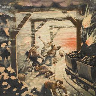 1906년 쿠리에르 광산의 대참사