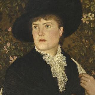 월터 크레인 부인의 초상