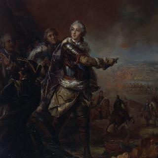 출정 중 루이 15세의 초상