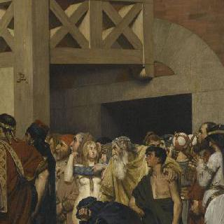 성녀 주느비에브의 죽음 (초벌화)