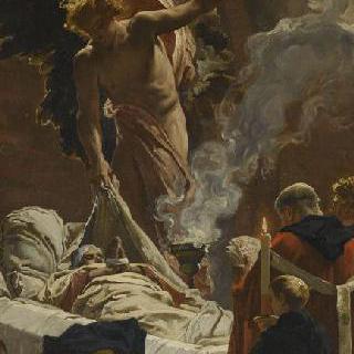 성녀 주느비에브의 죽음 (습작)