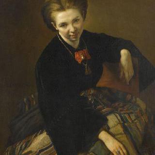 아델라이드 불랑제의 초상, 화가의 부인