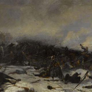 1870년 12월 2일 루아니 전투의 샤레트 대령의 서쪽 의용병