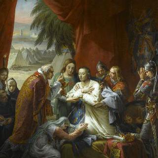 튀니지에서 성 루이의 마지막 영성체