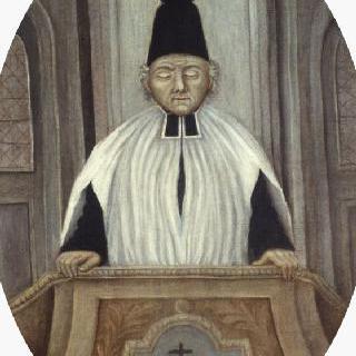 복음을 전하는 부솔 사제