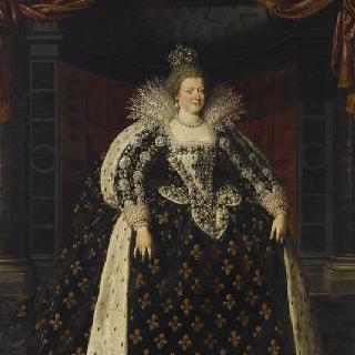 마리 드 메디치, 프랑스 왕비