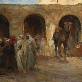 비스크라의 시장