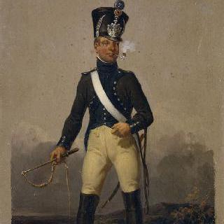 1809년 병참 부대의 군사