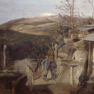 1915년 아르만스윌러콥프의 세르메 바위에서 바라본 전경